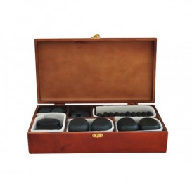 Hot stone massage set - 45 stones