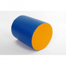 Round bolster for spine stretch 48x60