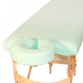 Terry set - table cover + headrest cover
